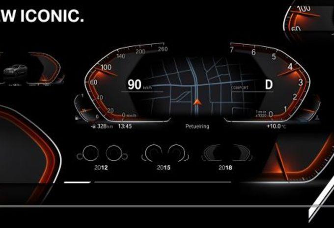"""BMW onthult instrumentenbord """"van de toekomst"""" #1"""