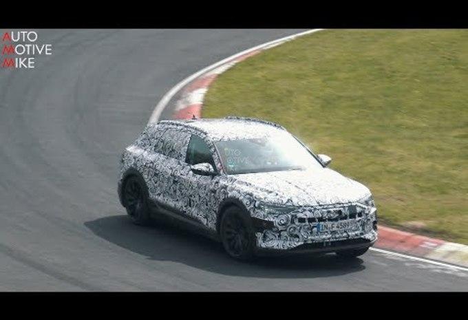 Audi e-tron rijdt eerste rondje op de Nürburgring #1