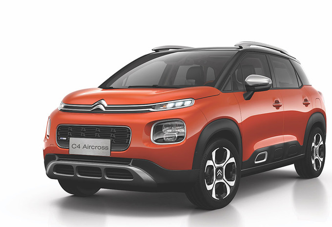 Citroën C4 Aircross is Chinese (verlengde) C3 Aircross #1