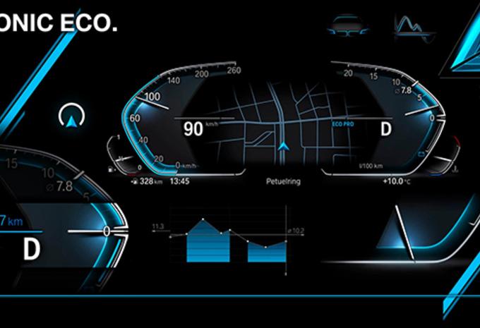 BMW's nieuwe digitale tellers #1