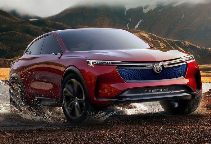 Salon de Pékin 2018 – Buick Enspire Concept : SUV électrique à 5G #1