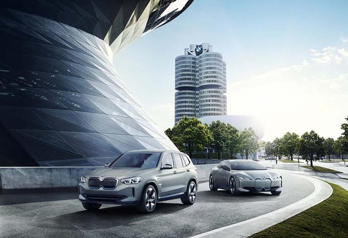 BMW iX3 Concept: 400 kilometer rijbereik #1