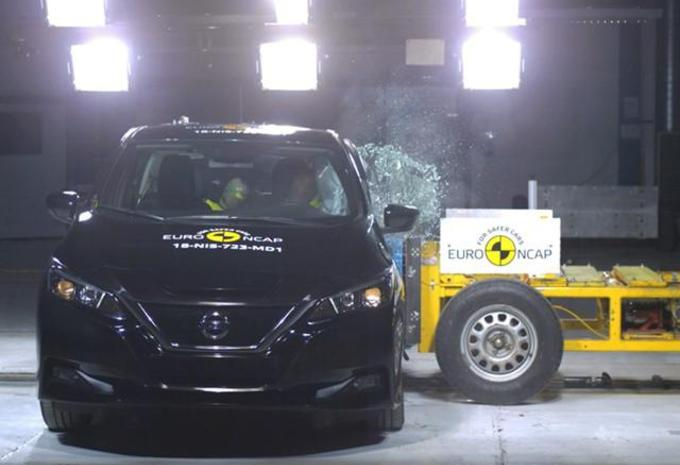 VIDÉO - Nissan Leaf : 5 étoiles aux nouveaux tests EuroNCAP #1
