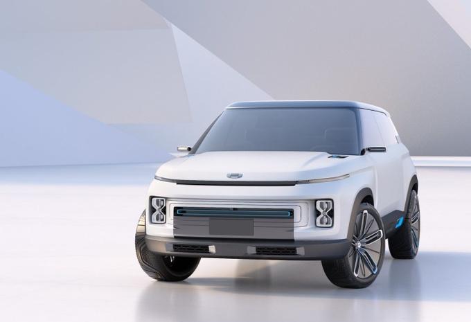 Salon de Pékin 2018 - Geely Concept Icon : plateforme de Volvo XC40 #1