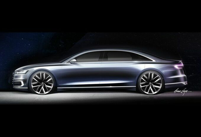 L'Audi S8 termine sa séance de muscu' #1