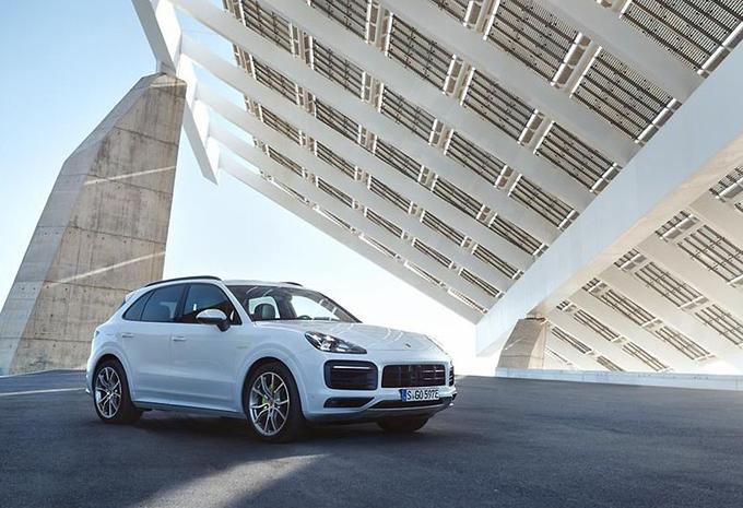 Porsche Cayenne nu ook als E-Hybrid #1