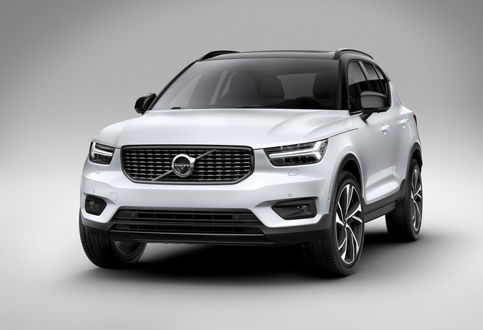 Volvo XC40 : aussi Lease Car of the Year 2018 ! #1