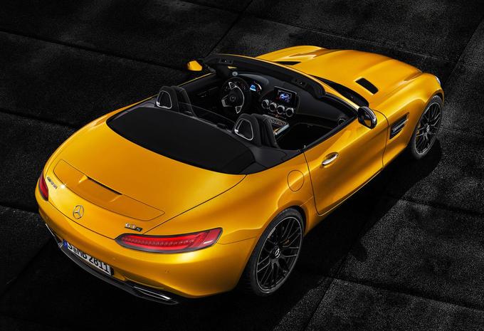 Mercedes-AMG GT Roadster nu ook als S #1