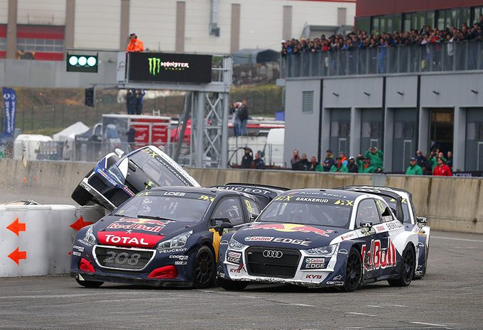Sébastien Loeb en Peugeot winnen WRX-spektakel in Mettet #1
