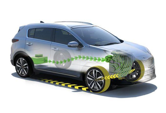 Kia Sportage komt als dieselhybride #1