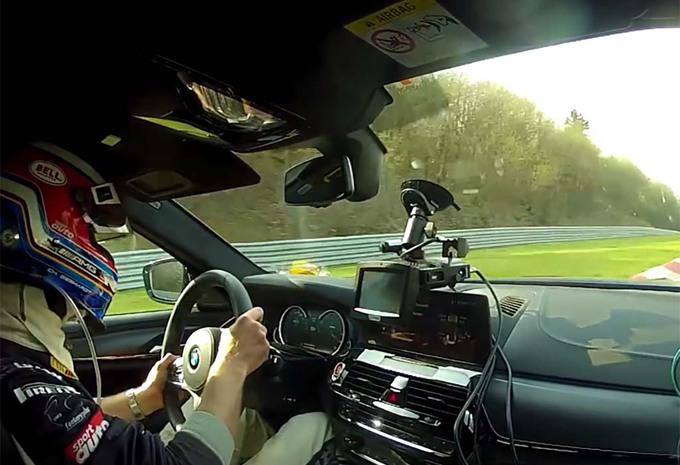 BMW M5 klopt Ferrari 430 Scuderia op de Nürburgring #1
