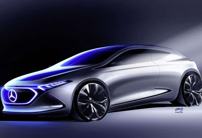 Mercedes : une compacte électrique fabriquée en France #1
