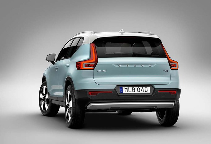 Volvo augmente la production du XC40 #1