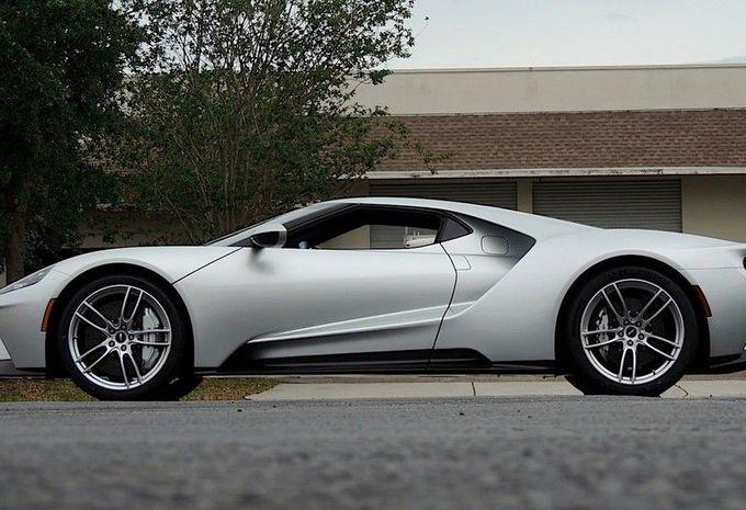 Ford : une GT vendue aux enchères pour une somme record   #1