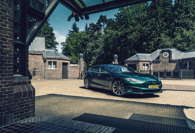 Une Tesla Model S Shooting Brake made in Holland #1