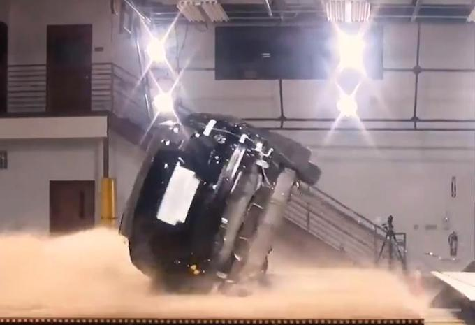 Tesla Model X : pratiquement inretournable  #1