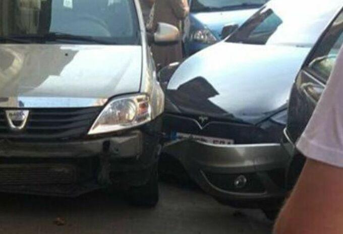 Un conducteur accuse sa Tesla à tort à Bruxelles #1