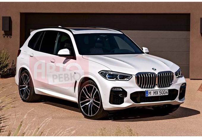 BMW X5 : en fuite sur la Toile #1