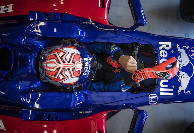 F1-team Toro Rosso test meervoudig wereldkampioen #1