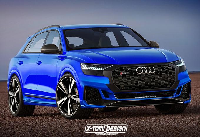Natuurlijk komt er een Audi RS Q8  #1