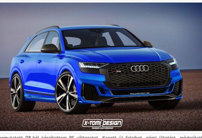 Audi Q8: wat dacht je van een SQ8 of zelfs een RS Q8? #1