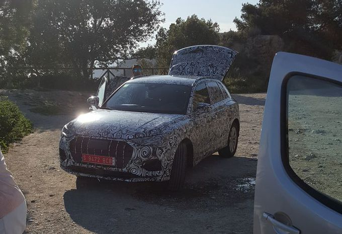 Audi Q3 : la face avant #1
