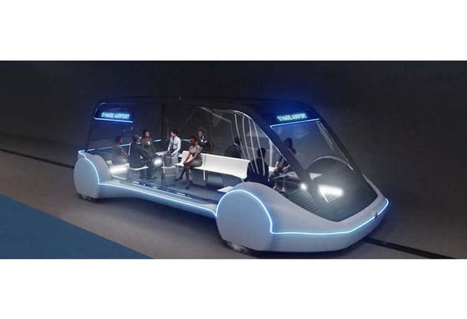Tesla : une capsule à 240 km/h sous la terre à Chicago #1