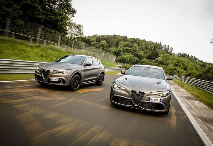 Alfa Romeo Giulia et Stelvio NRING pour fêter les 108 ans #1