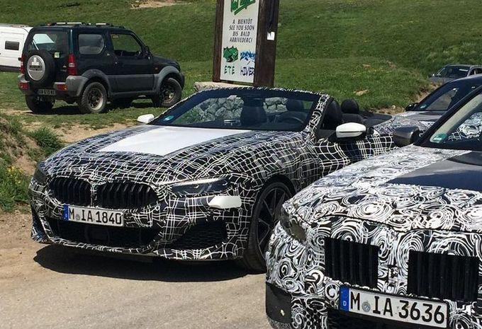 La BMW Série 8 Cabrio au Col d'Allos #1