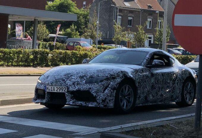 Toyota Supra : très différente de la BMW Z4 (nouvelles images) #1