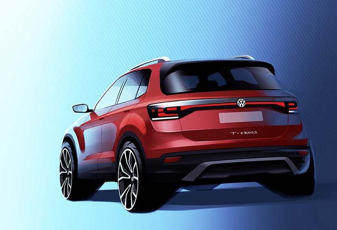 Volkswagen : le T-Cross va ressembler à ça #1