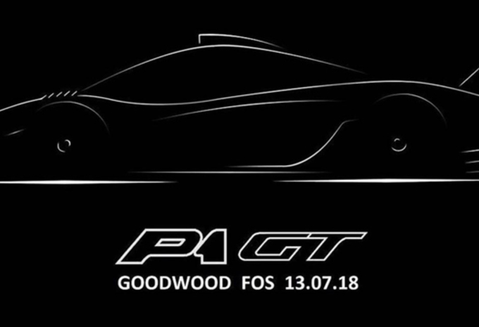 McLaren P1 GT : modèle unique à Goodwood #1