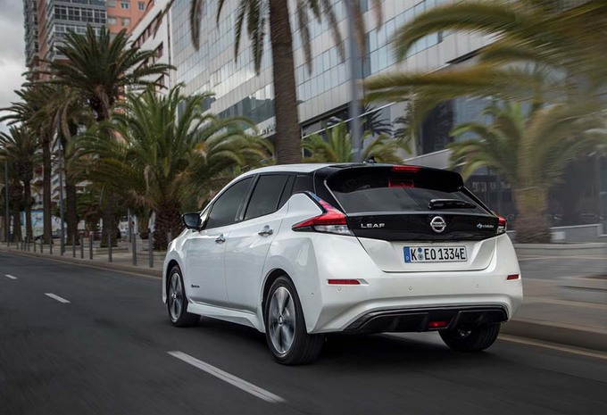 Nissan Leaf Domineert Ev Markt In Europa Autogids