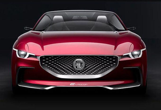 MG B maakt comeback als elektrische roadster #1