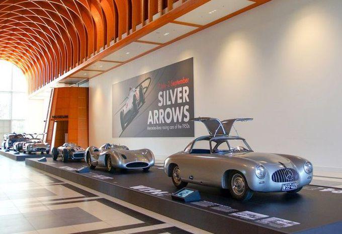 De 'Silver Arrows' bij het Louwman-museum #1