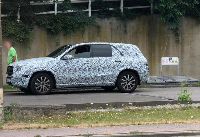 La future Mercedes GLE sur les routes wallonnes #1
