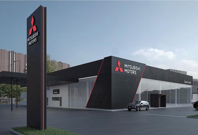 Wereldwijd nieuwe look voor Mitsubishi-showrooms #1