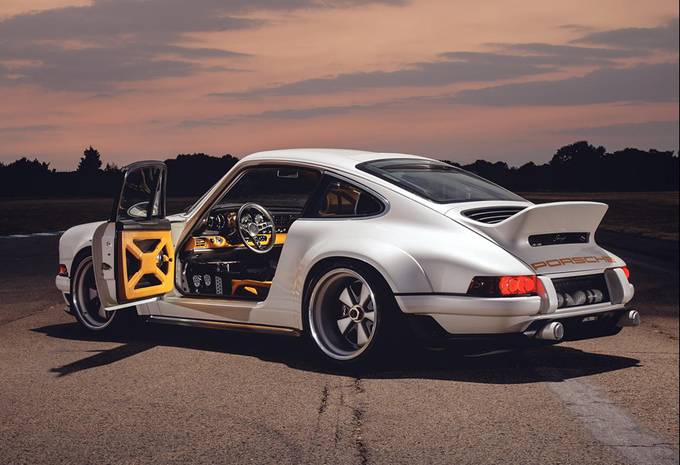 Fotos Singer Dls Is Porsche 911 Met Williams Technologie