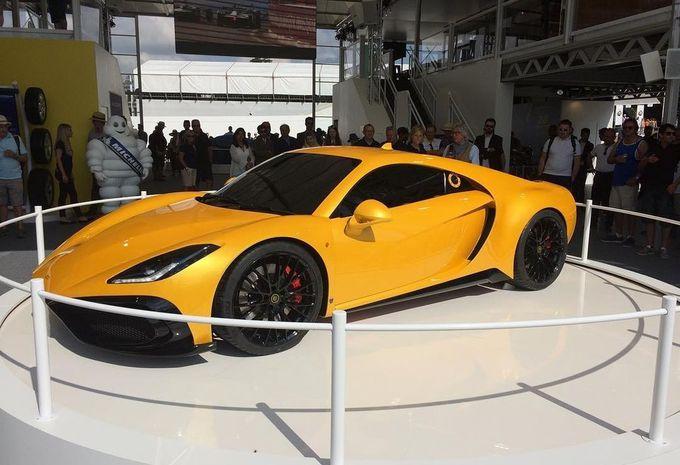 Noble M500 Concept : avec moteur de Ford GT #1