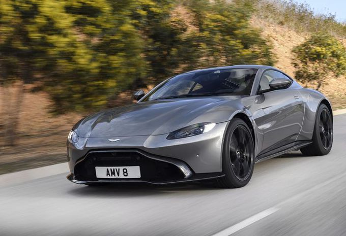 Aston Martin : une boîte manuelle pour le V8 AMG ? #1