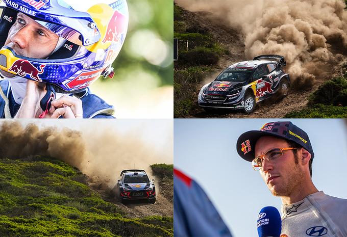 Nieuw duel Neuville-Ogier in WRC Finland #1