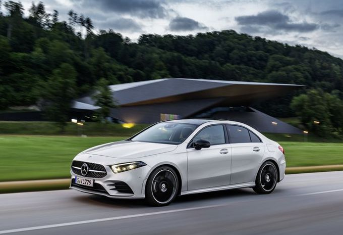 Mercedes Classe A Sedan : pour fendre l'air #1