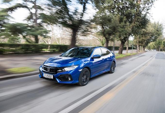 Honda Civic Diesel krijgt negentrapsautomaat #1