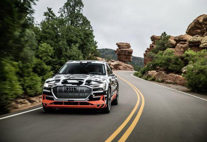 À bord de l'Audi e-Tron sur les pentes de Pikes Peak #1