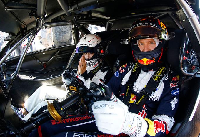 Rallykampioen Sébastien Ogier eventjes naar DTM #1