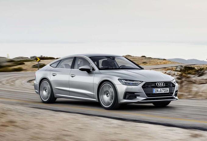 Audi A7 Sportback 40 TDI: New diesel # 1