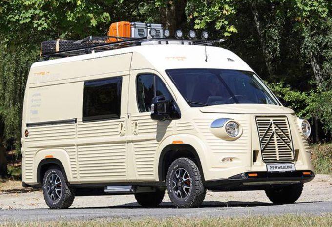 Citroën Type H Wildcamp : camping-car néo-rétro #1