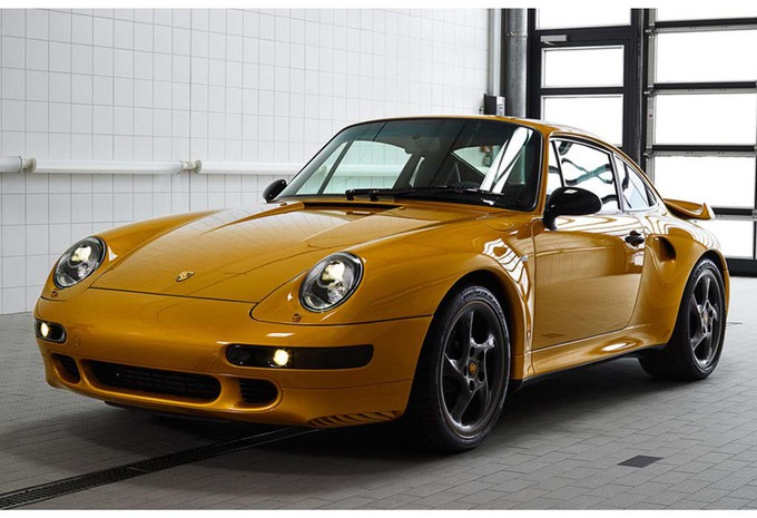 VIDÉO - Pebble Beach 2018 – Porsche Project Gold : superbe Restomod de la 993 Turbo S #1