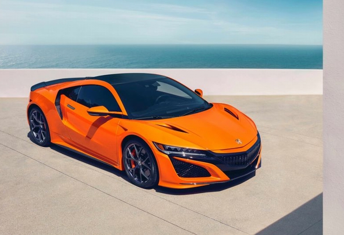 Honda NSX: nieuwe afstelling én oranje lak #1