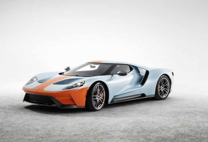 Ford Gt In Gulf Kleuren Autogids